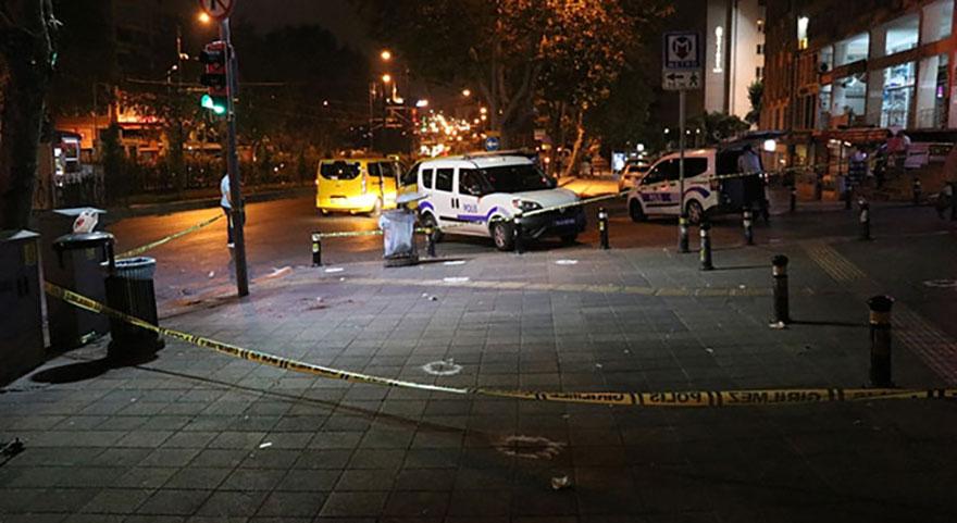 İstanbul'da sokak ortasında silahlıinfaz gerçekleşti!