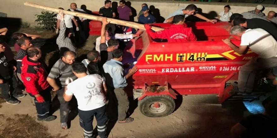 Balıkesir'de çiftçinin feci ölümü