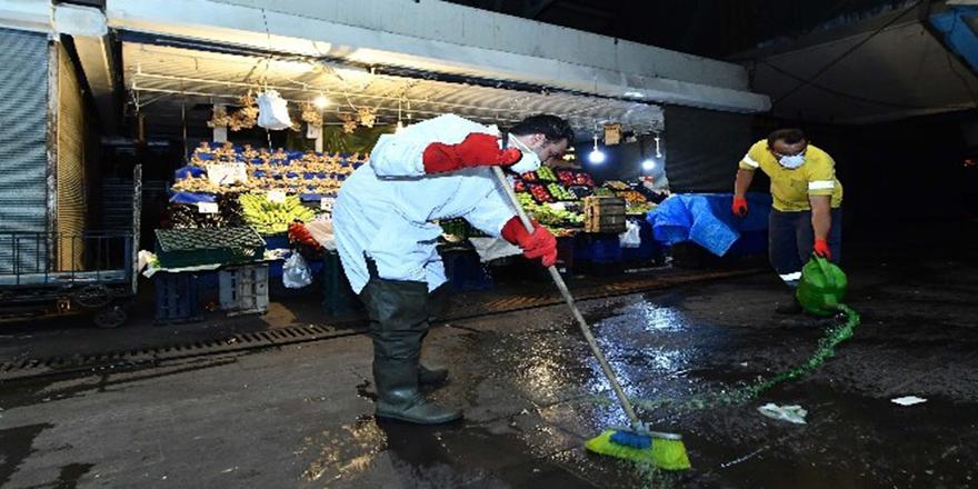 Ankara'da detaylı temizlik yapıldı