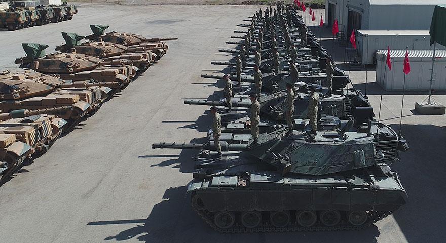 Dünyanın en modern tankları hazır!