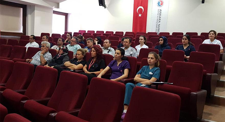 Göz Bankası ve Kornea Nakli Farkındalık Eğitimi gerçekleştirildi