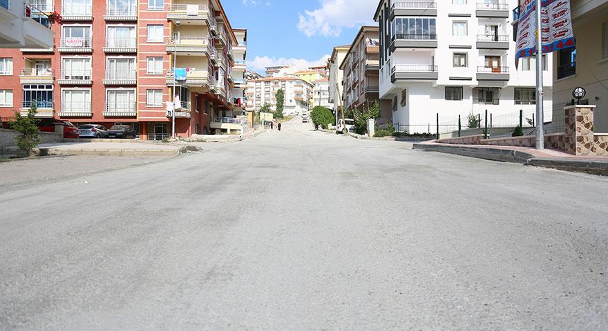Ankara'da bir ilk, beton yol
