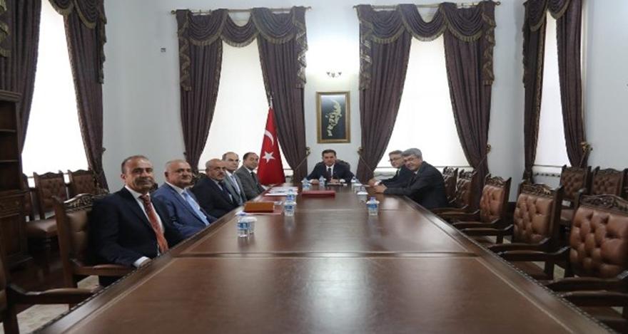 Vali Topaca, Niyazi Ercan ile protokol imzaladı