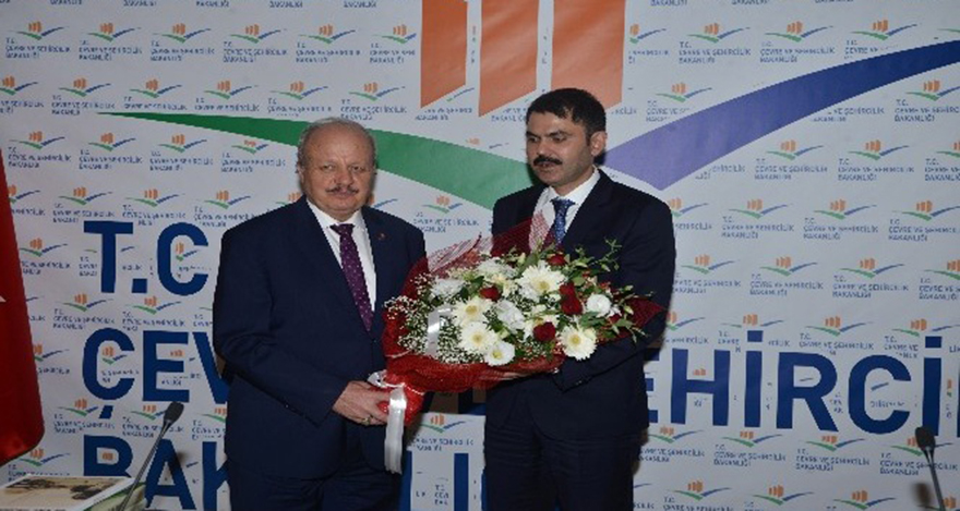 ASO yönetimi, Bakan Murat Kurum'u ziyaret etti