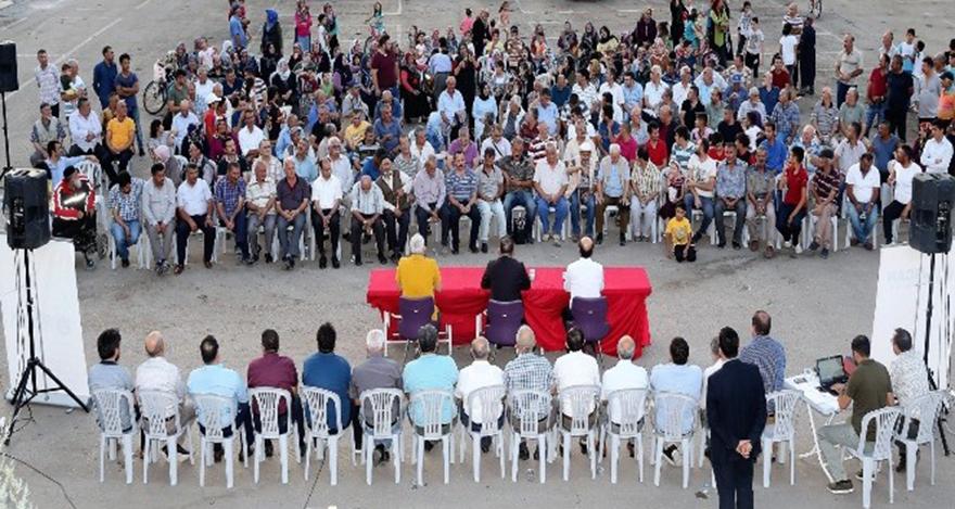 Sincan Belediye Başkanı Ercan, mahalle sakinlerini dinledi
