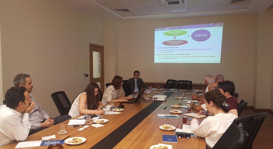 Sanayi doktora programı tanıtım toplantısı gerçekleştirildi