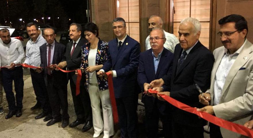 Erzurum Evi yoğun bir katılımla açıldı