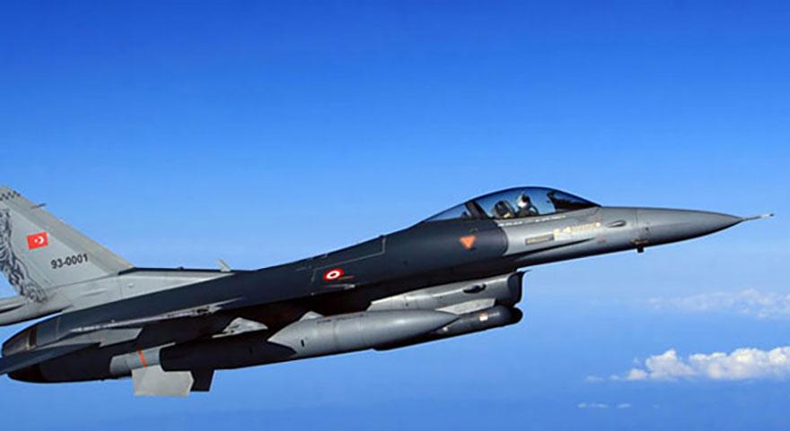 Vatandaşlar ihbar etti, F16'lar vurdu!