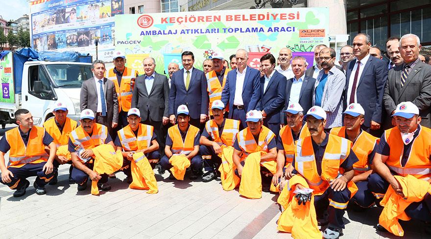 Atık toplayıcılar için Türkiye'de bir ilk Keçiören Belediyesi'nden
