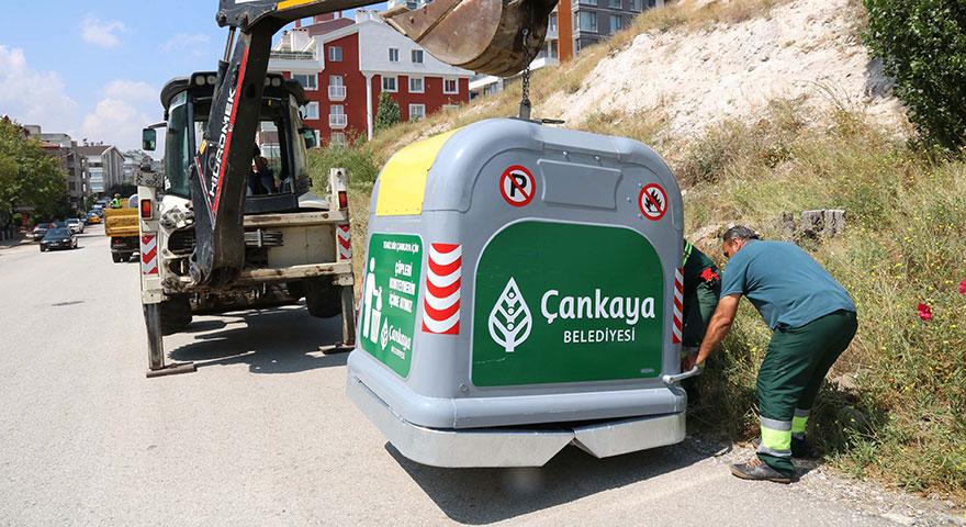 Dikmen'e Avrupa modeli konteyner