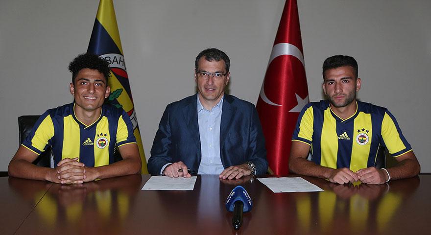 Fenerbahçe, alt yapıdan 2 oyuncuyla sözleşme imzaladı