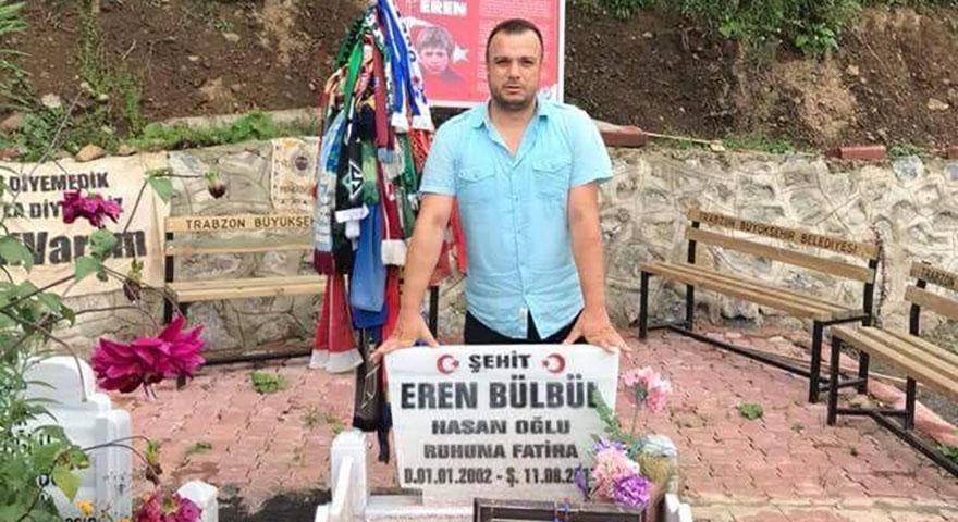Eren Bülbül için 4 bin kilometre yol katetti Danimarka'dan geldi