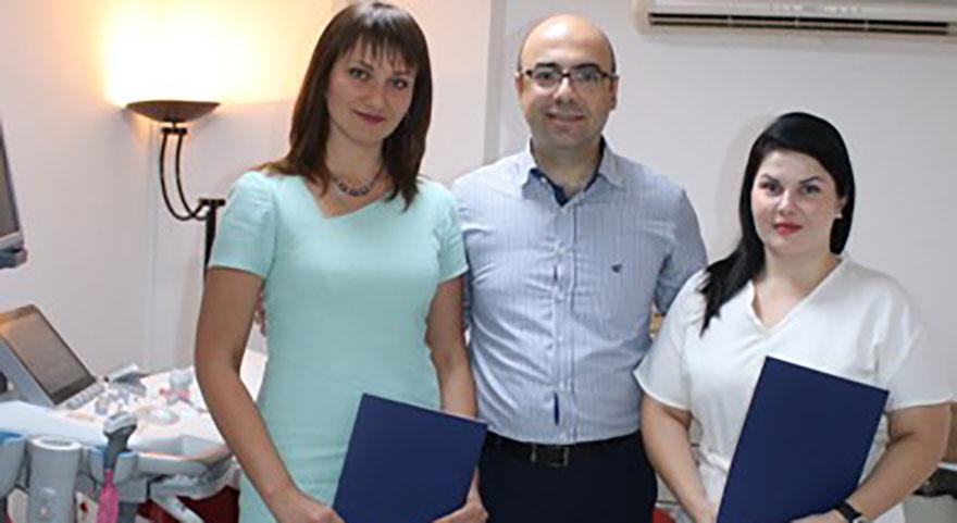 Ukraynalı doktorlar Ankara Tıp'ta bilgilerini pekiştirdi