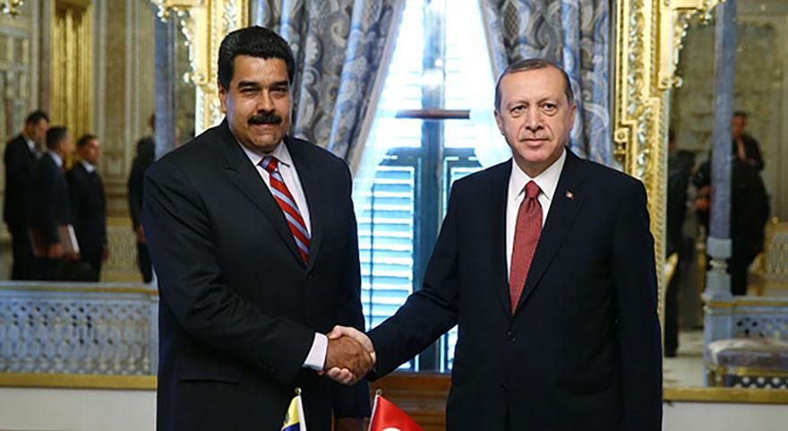 Başkan Erdoğan'dan Maduro'ya sürpriz telefon