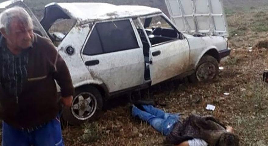 Başkent'te feci kaza: 2 kişi hayatını kaybetti