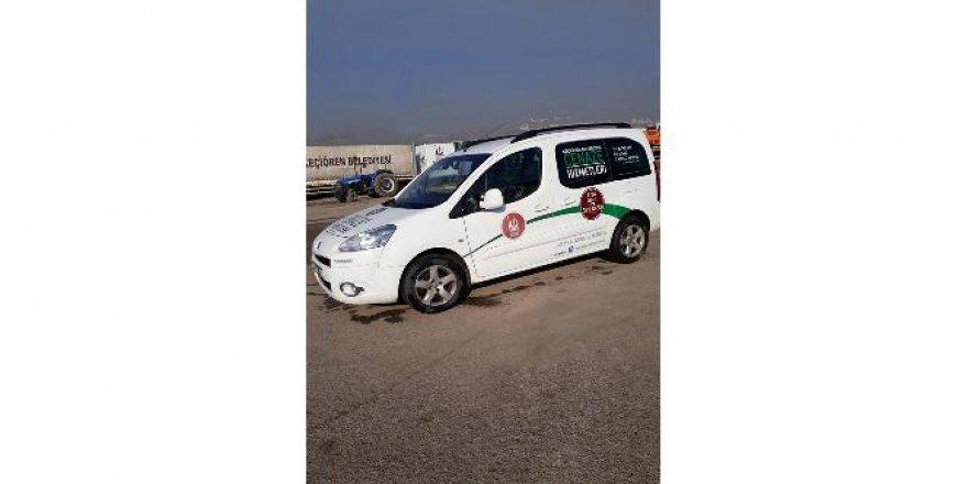 Mobil cenaze hizmet aracıyla işlemler daha hızlı
