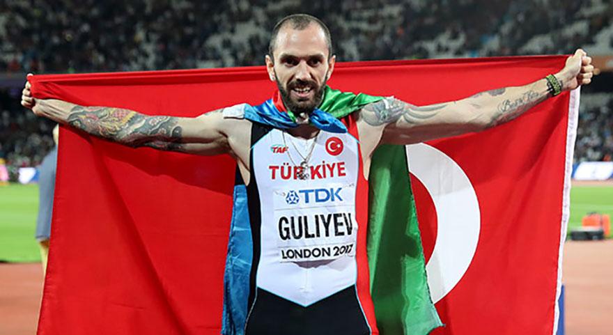 Guliyev, tarih yazdı! Madalya rekorla geldi