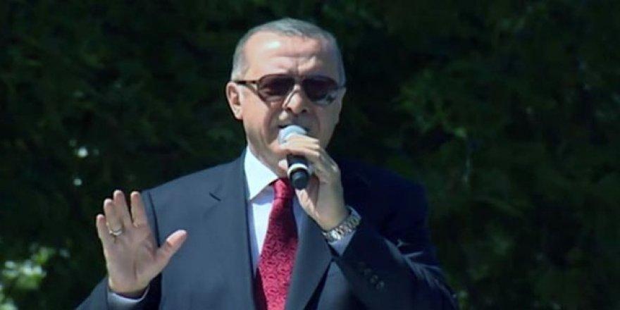 Cumhurbaşkanı Erdoğan'dan ABD'ye sert mesaj!