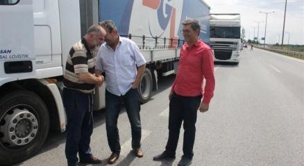 Kapıkule'de TIR şoförlerinin buruk bayram sevinci haberi