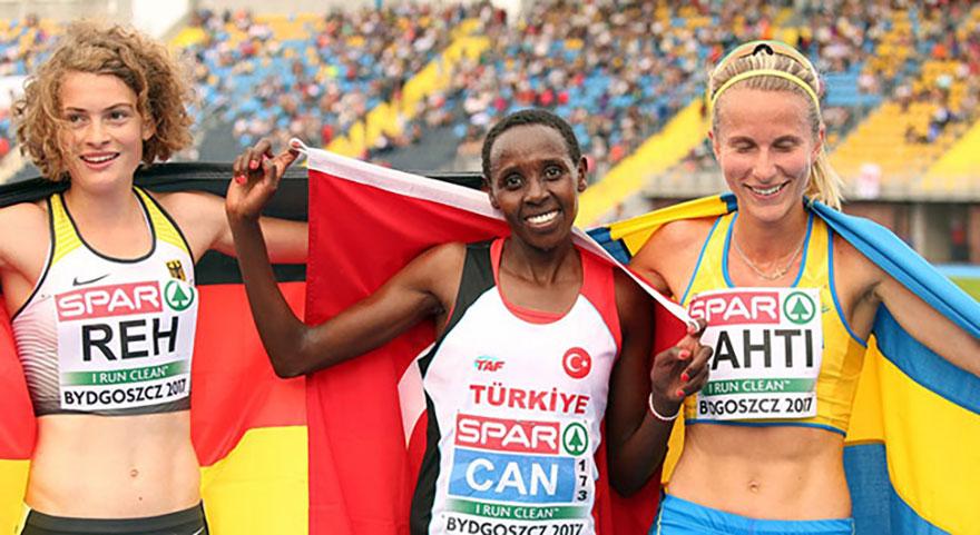Milli atlet  Avrupa üçüncüsü oldu