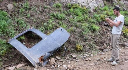 Köylüler helikopter kazasını anlattı
