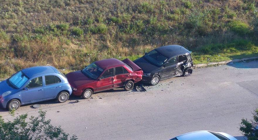 Alkollü sürücü dehşet saçtı