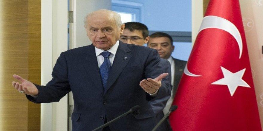 Bahçeli: Türkiye, döviz üzerinden kundaklanmak istenmektedir
