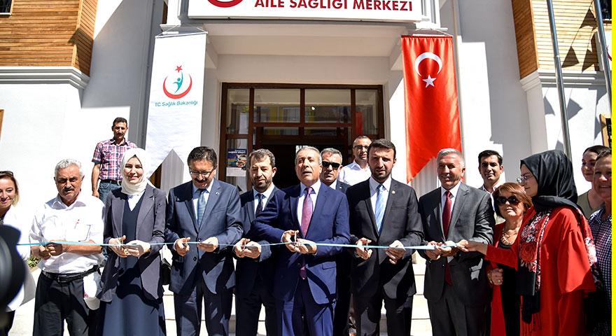 Altındağ'a yeni sağlık merkezi ve park
