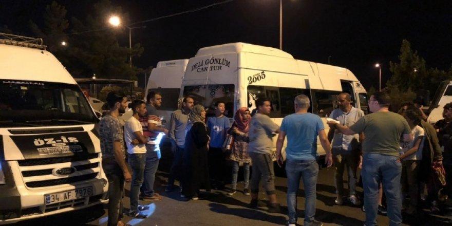 Adana'da 50 göçmen Suriyeli yakalandı