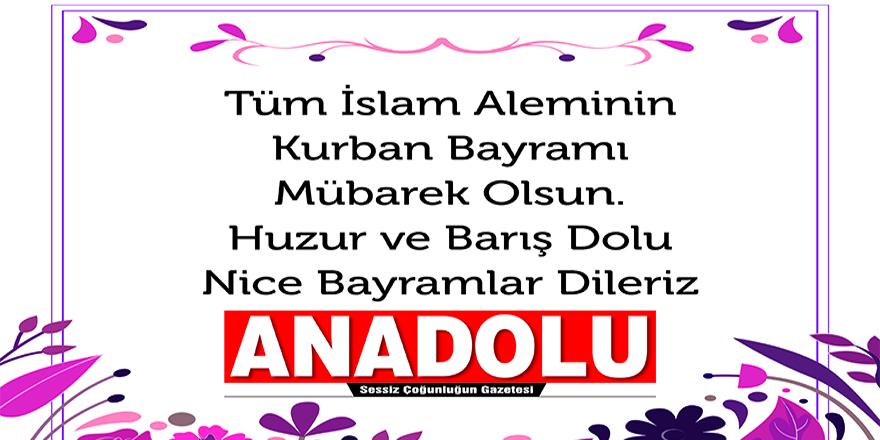 Anadolu Gazetesi bayram kutlaması