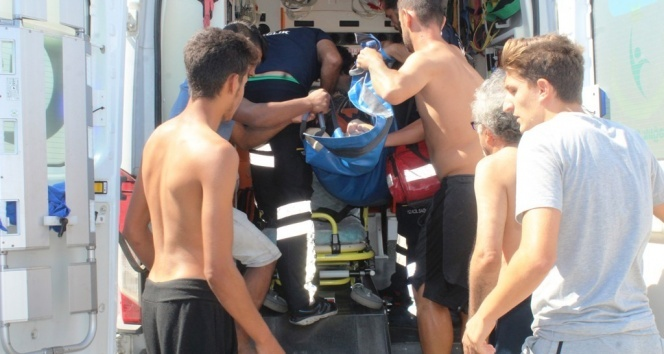 80 yaşında denizde boğuldu