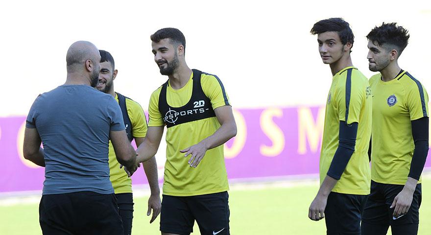 Osmanlıspor Balıkesirspor maçına hazırlanıyor