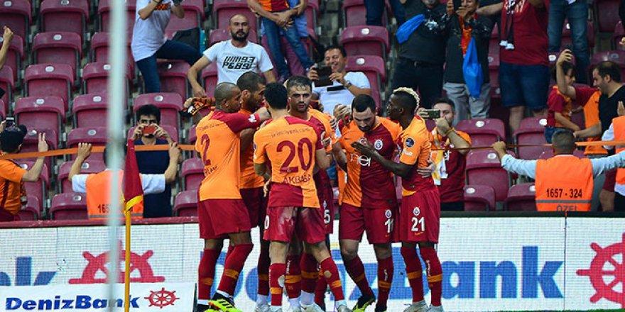 Galatasaray, Alanyaspor'u 6-0 mağlup etti.