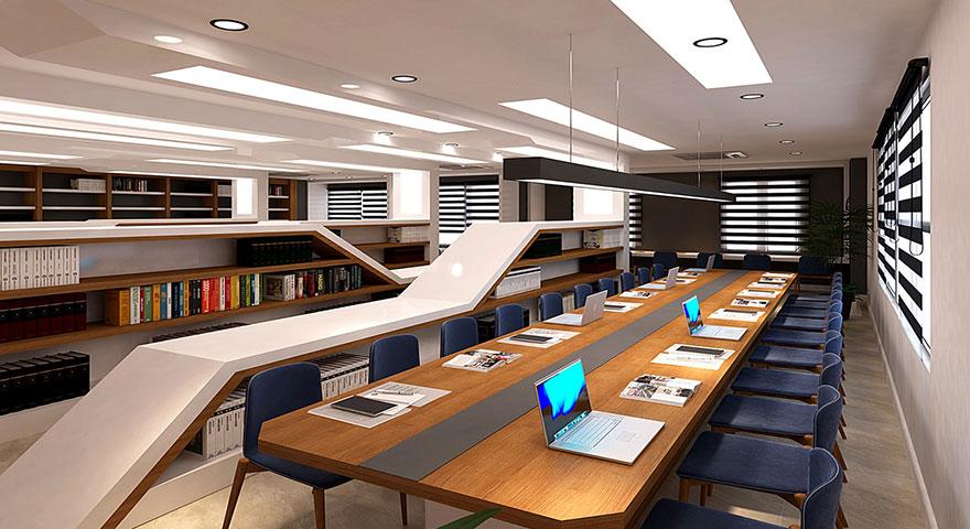 Şehir Kütüphanesi kısa sürede tamamlanacak