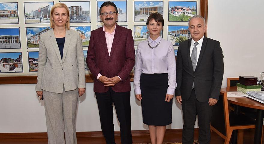 Gagavuz Başkan İrina Vlah, Başkan Tiryaki'yi ziyaret etti