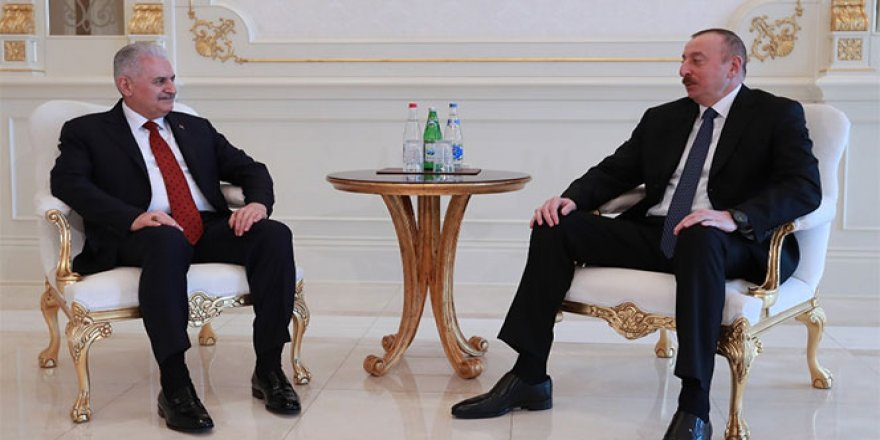 TBMM Başkanı Yıldırım, Aliyev ile görüştü