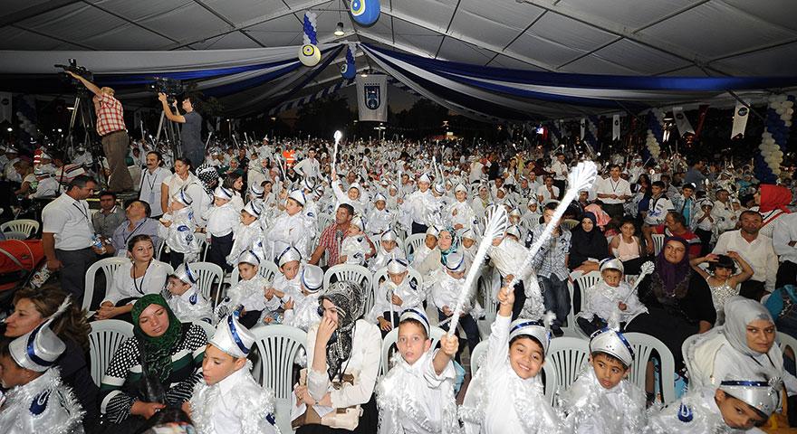 Büyükşehir toplu sünnet şölenine ev sahipliği yapıyor