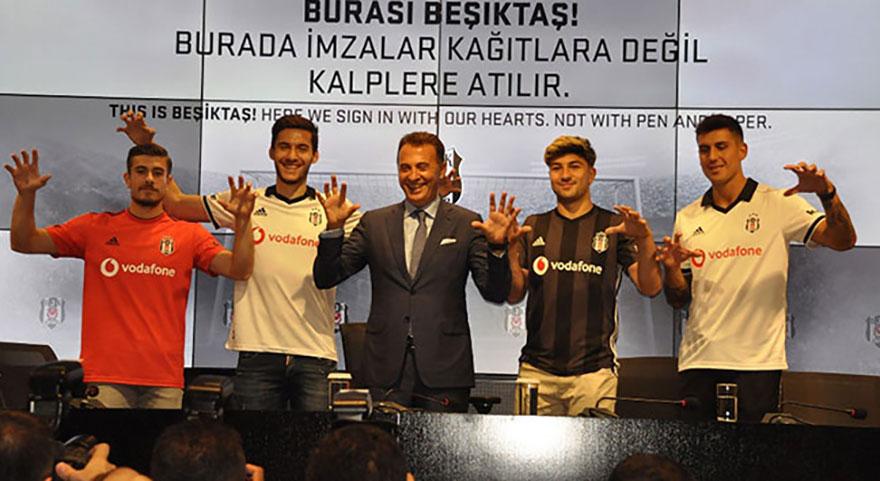 Transferde en karlı Beşiktaş çıktı