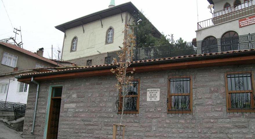 Hacı Bayram Veli'nin evi iç turizme kazandırılacak