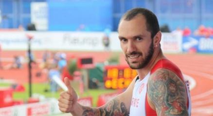 Milli atlet Ramil Guliyev, 200 metrede gümüş madalya kazandı