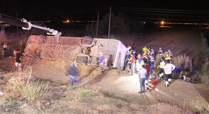 Aksaray'da katliam gibi kaza! 6 ölü, 44 yaralı