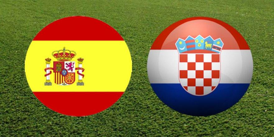 İspanya Hırvatistan maçı ne zaman? saat kaçta?