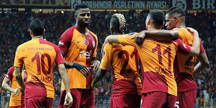 Galatasaray'dan rakiplerini kıskandıran seri