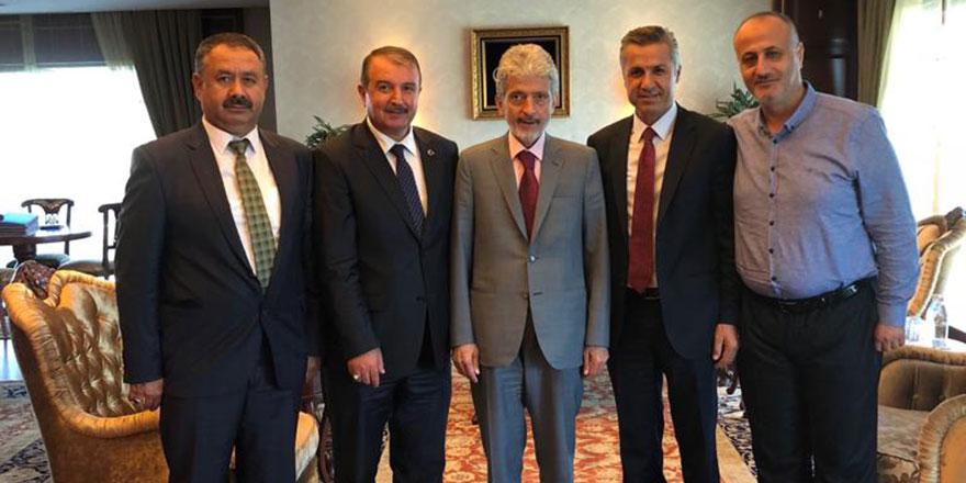 Siteler'den Başkan Tuna' ya ziyaret