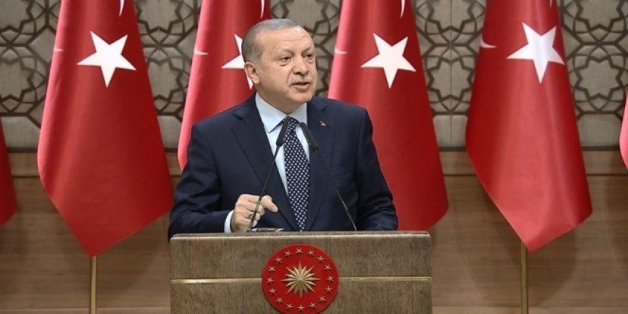 Erdoğan'dan sert sözler: Şu an benim şahsen sabır safhamdır