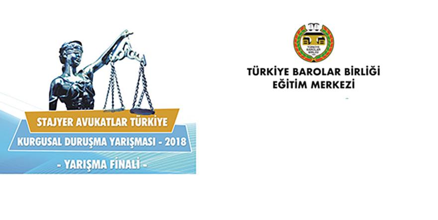 Türkiye'nin her yerinden avukat stajyerleri yarışıyor
