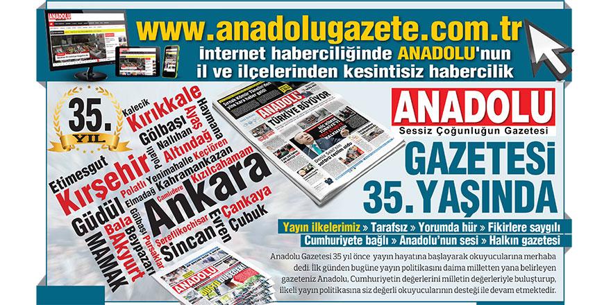 Anadolu Gazetesi 35 yaşında