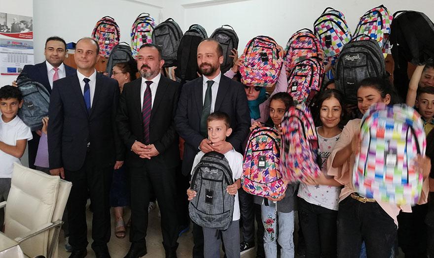 Başkan Murat Ercan'dan  İlksan İlköğretim Okulu öğrencilerine sürpriz ziyaret