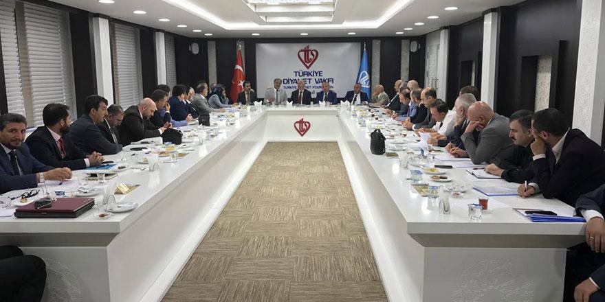 Ankara Müftülüğü Eylül ayı ilçe müftüleri toplantısı yapıldı