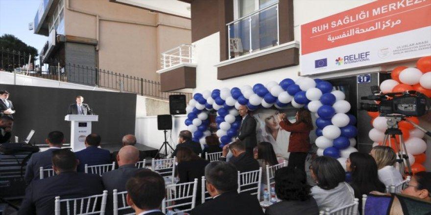 Ankara'da mülteciler için ruh sağlığı merkezi açıldı